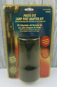 "Summit Lighting CP689 Photo Eye Lamp Post Adapter Kit for 3"" Posts New NIP"