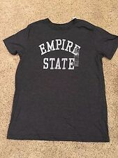 NWT Men's Gray Short Sleeve Empire State Top T-Shirt Large