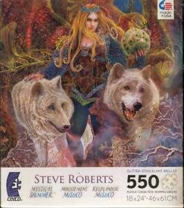 Steve Roberts Jigsaw Puzzle Mystical Shimmer Keeper of the Egg