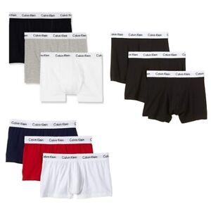 Calvin Klein 3er Pack Low Rise Trunk Herren Boxershorts - Farbwahl S-XL