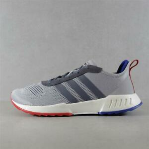 Mens Adidas Phosphere Grey/Blue/Red Trainers (CMF29) RRP £69.99