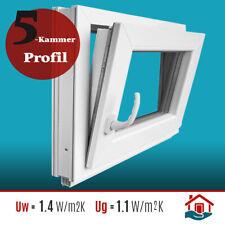 Kunststofffenster Fenster 2-fach Verglasung 5 Kammer Profile Premium