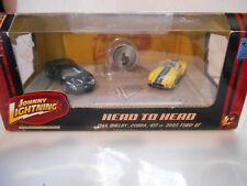 johnny lightning head to head 1966 shelby cobra - 2005 ford gt NIB  neuf boite