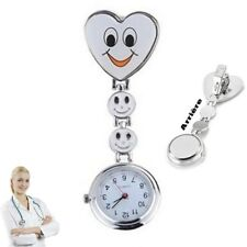 Reloj de pulsera Smiley Enfermera segunda mano Blanco