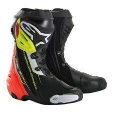 Alpinestars Supertech R Boots Black/Red/Flo Yellow