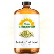 Sandalwood (Australian) Essential Oil 100% Purely Natural Therapeutic Grade 16oz