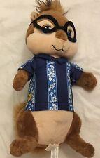 "Build A Bear Plush Simon Alvin Chipmunks Hawaiian Shirt 10"" Glasses Toy EUC"
