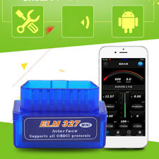 Mini OBD2 ELM327 V2.1 Bluetooth Car Scanner Android Torque Diagnostic Scan Tool