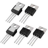 5 Pcs 3 Terminals 1.5A 5V L7805CV Postive Voltage Regulators O4M1