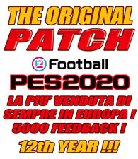 ORIGINAL PATCH PES 2020 PS4 - OPTION FILE - BESTSELLER - BUNDESLIGA - SERIE B V4