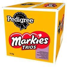 12.5kg Pedigree Markies Trios Dog Treat Marrowbone Chicken Lamb Bulk Dog Biscuit