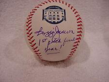 RARE Reggie Jackson Autod Final Season Cer 1st Pitch Ball, New York Yankees, PSA