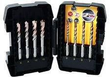 Set 8 pezzi PUNTE SDS PLUS STANLEY FATMAX® STA88101 trapano avvitatore cemento