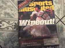 """SCOTT BROSIUS AUTOGRAPHED 1999 SPORTS ILLUSTRATED/YANKEES """"WIPEOUT"""""""
