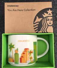 Orlando You Are Here (YAH) Starbucks Mug. Original and NWT NIB