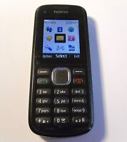Nokia C1-02 - Black (Unlocked) Mobile Phone - Fully Working & Tested - FREE P&P!