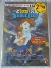 // NEUF Le Secret du Sable Bleu volume 1 DVD MANGA JULES VERNE