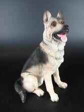 Schäferhund Hund Dog Figur aus Poly,15 cm ,sehr echt aussehend,Neu