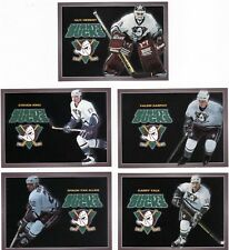 GARRY VALK, MIGHTY DUCKS OF ANAHEIM, RARE 1994-95 'CARL'S JR.' NHL CARD.