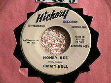 JIMMY BELL~HONEY BEE~THE POOREST BOY IN TOWN~PROMO~HICKORY 1156~ TEEN 45