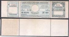 COLIS POSTAUX DE PARIS POUR PARIS 141 NEUF SANS CHARNIERE **