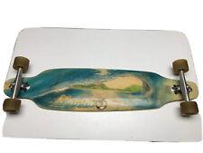 Vintage Sector 9 Longboard Skateboard Early Carver Trucks 9Ball Wheels