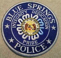 MO Blue Springs Missouri Police Patch