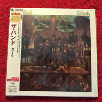 THE BAND   CAHOOTS    CD/MINI LP  JAPAN PRESS  REISSUE 1998 CAPITOL PERFECT