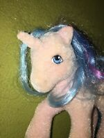 My Little Pony MLP Vintage G1 Flocked Doll ~ So Soft Buttons