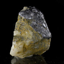 "2.5"" Flashy Brilliant Silver MOLYBDENITE CRYSTALS on Quartz Australia for sale"