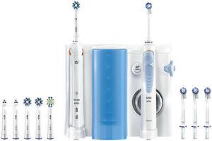 Oral-B Mundpflege-Center Smart 5000 Elektr. Zahnbürste + Oxyjet Munddusche NEU