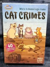 ThinkFun Cat Crimes Logic Game Brand NEW Sealed