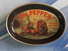 """1979 DR. PEPPER 6"""" TIN TIP TRAY NEW OLD STOCK MADE IN U.S.A. L@@K"""