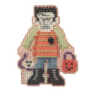 Monster Mash Bead Cross Stitch Kit Mill Hill 2014 Autumn Harvest