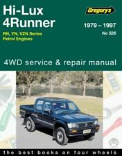Toyota Hilux Repair Manual 4Runner 2WD 4WD RN YN VZN Petrol Gregorys 1979-1997