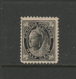 CANADA #66 1/2 CENT LEAF   MINT  NH