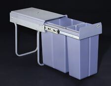 RECYCLE BIN PULL OUT KITCHEN WASTE BIN FOR 300MM UNIT 30 LTR SOFT CLOSE