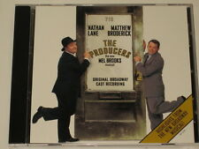 THE PRODUCERS - CD - ORIGINAL CAST - 3 TRACK PROMO - MEL BROOKS