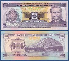 Honduras 2 lempiras 2006 UNC p. 80a e