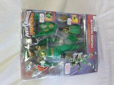 Power Rangers Ninja Storm Green Samurai Weapon Warrior Figure Bandai 2003 NEW