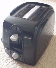 Sunbeam 3910-100 2-Slice Wide Slot Toaster Black