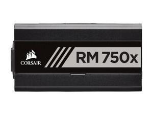 Corsair RM750x 750W Power Supply 80 Plus Gold Fully Modular ATX PSU Unit