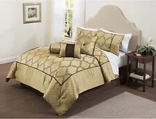 Casa Bexley 7-Piece Bedding Comforter Set Full