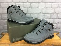 TIMBERLAND MENS EURO SPRINT HIKER GREY NUBUCK BOOTS RRP £130 VARIOUS SIZES T