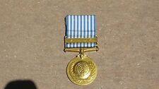 Korean War UN United Nations Service Medal Award in KOREAN