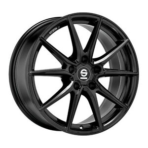CERCHI IN LEGA SPARCO DRS AUDI A6 Staggered 7.5x17 5x112 ET 48 GLOSS BLACK 619