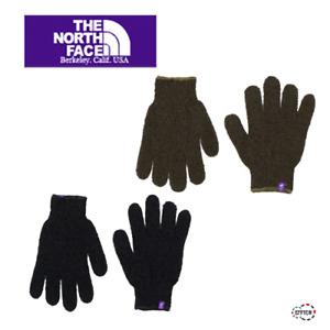 THE NORTH FACE PURPLE LABEL field knit glove NN8060N unisex Sage Green New M/L