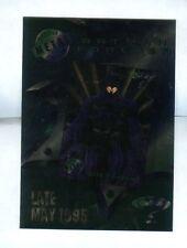 Batman Metal Forever Promo 1995 5x7 Sheet NM/M