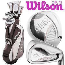 WILSON PROSTAFF HDX ALLURE LADIES COMPLETE GOLF SET +DELUXE GOLF CART BAG