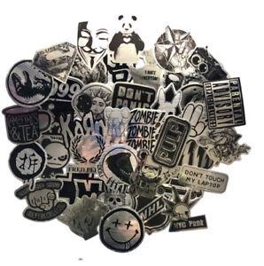MUSIC STICKERS 50 METALLIC GOTH KORN PULP ZOMBIE BLACK SABBATH ADULT FUNNY EMO
